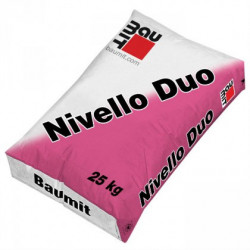 Baumit Nivello Duo - Sapa autonivelanta 2-10 mm C16-F5 25 Kg