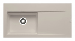 Chiuveta granit TEKTON 100x51 1B 1D ST Beige