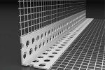 Coltar PVC cu plasa fibra sticla EUROGLASS 10x15, 2.5m/buc