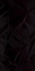 Faianta Synergy Nero Sciana B, Paradyz Ceramica, neagra, lucioasa, 30x60 cm