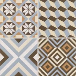 Gresie Diamante Colour Gres, Paradyz Ceramica, mata, Mix C, 40x40 cm