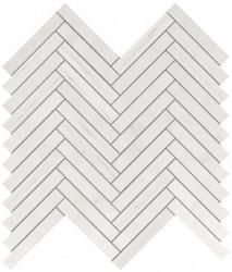 Marvel Stone Bianco Dolomite Herringbone Wall 30,5x30,5