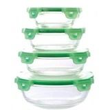Set 5 caserole Cooking Bowl din sticla