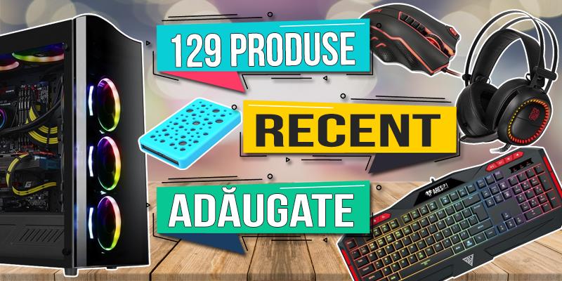 129 de produse nou adaugate
