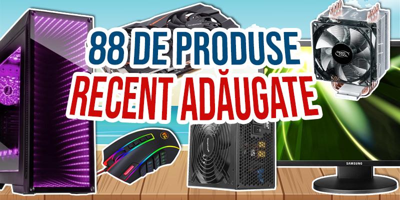 88 de produse nou adaugate