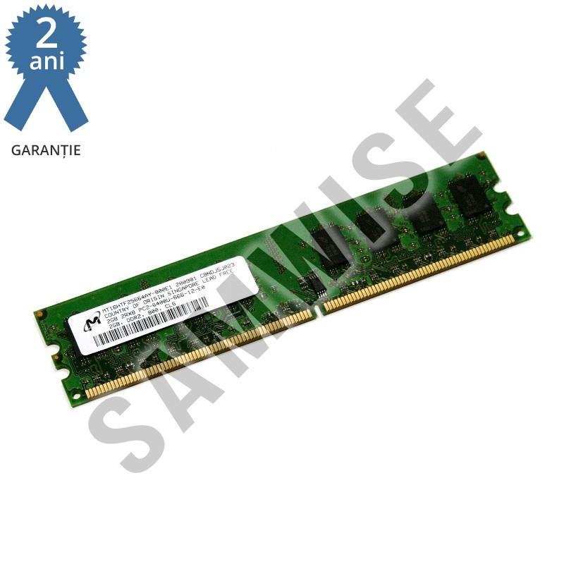 memorie calculator ram 2gb mt ddr2 800mhz pc2 6400u