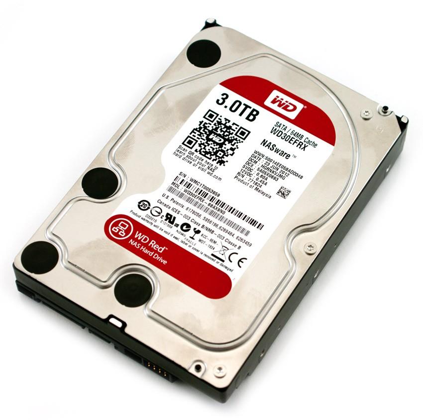 hard disk 3tb western digital red wd30efrx sata3 buffer 64mb. Black Bedroom Furniture Sets. Home Design Ideas