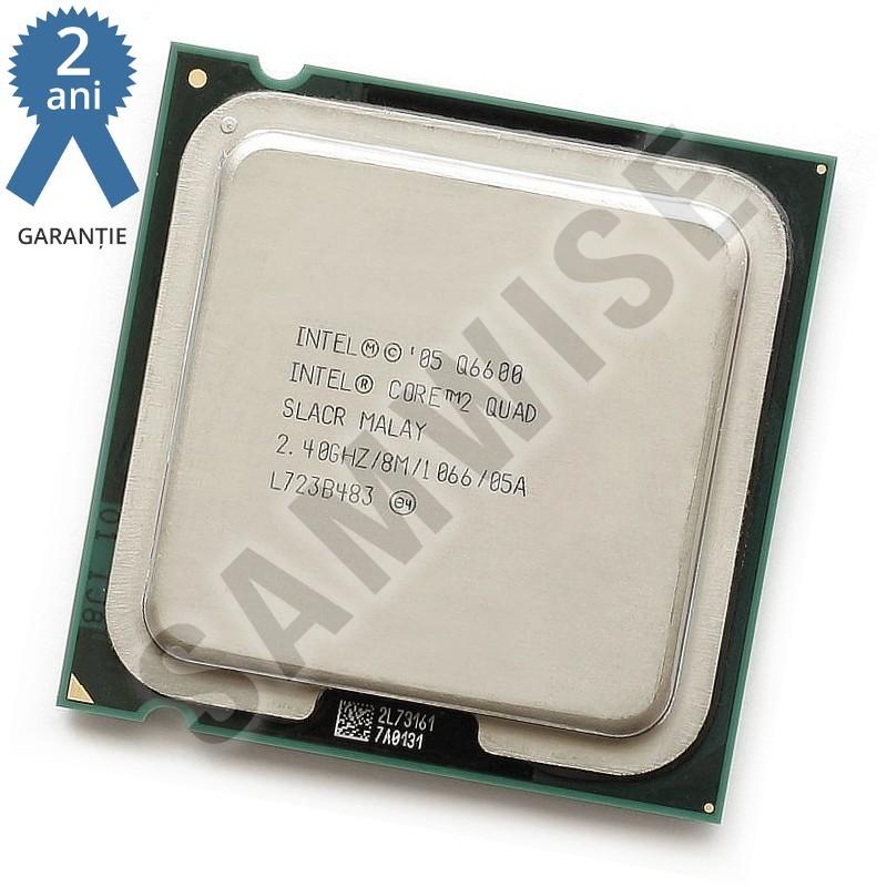 Procesor Intel Core 2 Quad, Q6600 2 4GHz, Socket LGA775, Cache 8MB, FSB  1066MHz