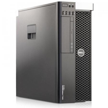 Calculator Dell Workstation Precision T3610, Intel Xeon E5-1650 3.2GHz, 32GB DDR3, SSD 250GB, 500GB, ATI HD 7570 1GB DDR5 128-bit, DVD-RW