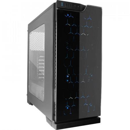 Calculator Gaming Segotep K5, Intel Core i5 4590 3.3GHz, H81M PRO-VD, 16GB DDR3, SSD 240GB, 3TB, XFX RX 580 8GB DDR5 256-bit, DVI, HDMI, 500W