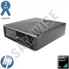 Poze Calculator Incomplet HP Compaq Pro 6005 SFF, AMD Athlon II X2 255 3.1GHz, DDR3, SATA2, VGA, DisplayPort