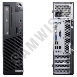 Poze Calculator Lenovo M71E SFF, Intel Core i5 2500 3.3GHz, 4GB DDR3, Video HD Graphics DVI, 320GB, DVD-RW