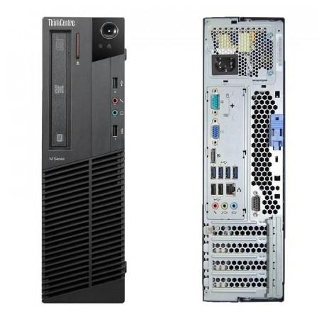 Calculator Lenovo M82 SFF, Intel Core i3 3220 3.3GHz, 4GB DDR3, 500GB, DVD-RW