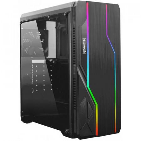 Carcasa Gaming Redragon Devastator, MiddleTower, Panou transparent, USB 3.0
