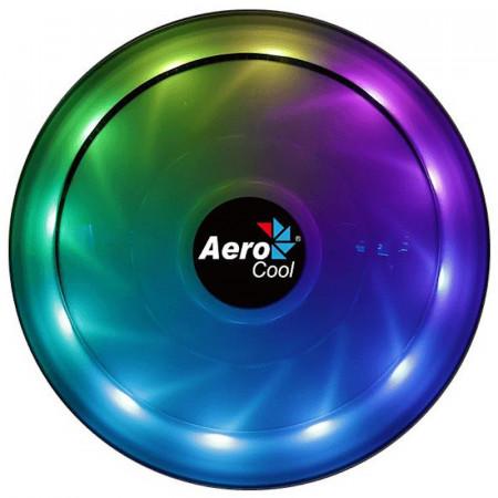 Cooler CPU Aerocool Core Plus RGB, 120mm, iluminare LED RGB