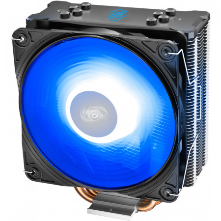 Cooler CPU Deepcool GAMMAXX GTE V2 RGB, Ventilator 120mm, Heatpipe-uri cupru, Multisocket