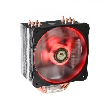 Cooler CPU ID-Cooling SE-214L Red LED, Ventilator 130mm, 4x Heatpipe-uri Cupru