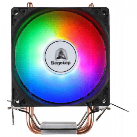 Cooler CPU Segotep Frozen Tower TS4, Iluminare RGB