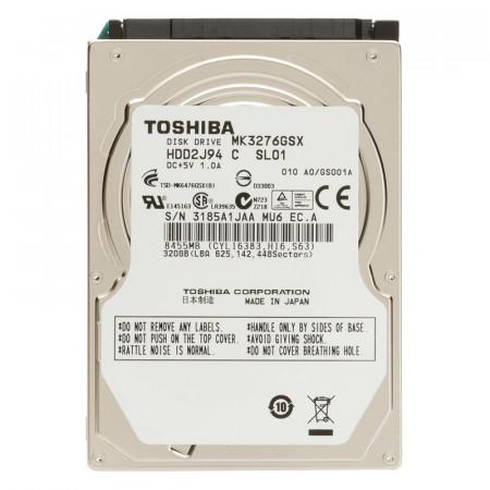 Hard disk Laptop Toshiba 320GB MK3276GSX, SATA II, 5400rpm, Buffer 8MB