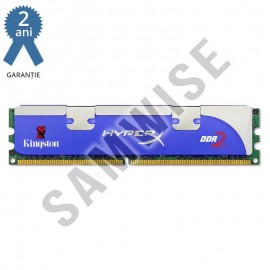 Poze Kit 2 x 1GB Kingston HyperX DDR2 800MHz KHX6400D2LL/1GB