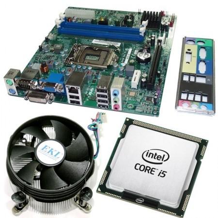 Kit Placa de baza Acer H61H2-AD, 3rd gen, DDR3, Intel Core i5 3470 3.2GHz, 4 nuclee, Cooler inclus