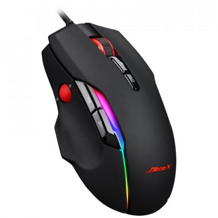 Mouse Gaming GT-200, Optic, USB, 7200 DPI, 9 butoane, iluminare RGB