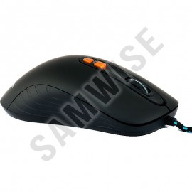 Poze Mouse Gaming Newmen GX1-PLUS Black, 4000 dpi, Switch-uri Omron, Picioruse de teflon, Iluminare LED