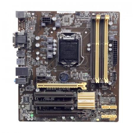 Placa de baza ASUS B85M-C/C-SI, LGA 1150, 4th gen, 4x DDR3, 4x SATA III, USB 3.0
