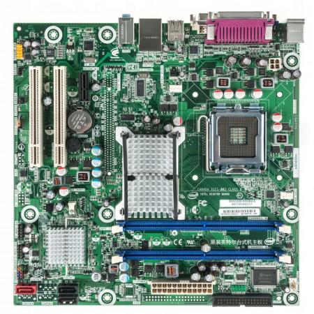 Placa de baza INTEL DQ43AP, Intel Core2Duo E7500 2.93GHz, 2x DDR2, DVI, VGA, Cooler inclus