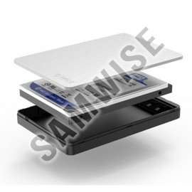 Rack extern Orico MD25U3, 2.5 inch, SATA, USB 3.0, Silver