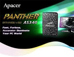 SSD 120GB APACER Panther AS340, SATA III 6GB/s