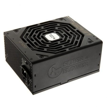 Sursa Gaming Modulara Super Flower Leadex Gold 650W, 80+ Gold, 10x SATA, 5x MOLEX, 4x 6+2 pin, Open box