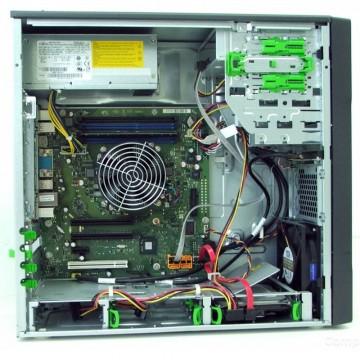 Calculator Incomplet Fujitsu P710 MT, LGA1155, Intel Q75, 3rd gen, 4x DDR3, SATA III, Cooler inclus