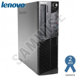 Poze Calculator Lenovo M82 SFF, Intel Pentium G630 2.7GHz, 4GB DDR3, 250GB, Video ATI HD5450 512MB 64-Bit, HDMI, DVI, VGA, DVD-RW