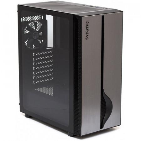 Carcasa Gaming Gamdias Mars M1, MiddleTower, USB 3.0, Panou transparent