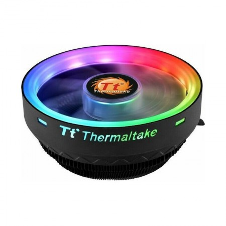 Cooler CPU Thermaltake UX100 ARGB, Iluminare LED RGB, Multi Socket, 1800RPM, 65W