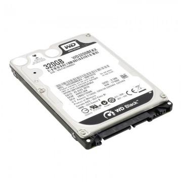 Hard disk notebook WD 320GB SATA-II 7200 rpm 16MB Black WD3200BEKX