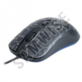 Poze Mouse Gaming Newmen GX1-R Black, 2000 dpi, Acceleratie 20G, Wired, USB