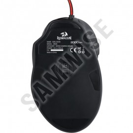 Mouse Gaming Redragon Smilodon, 2000DPI, Picioruse teflon, Iluminare LED, USB placat cu aur