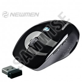 Poze Mouse notebook Newmen F580, Wireless, Black