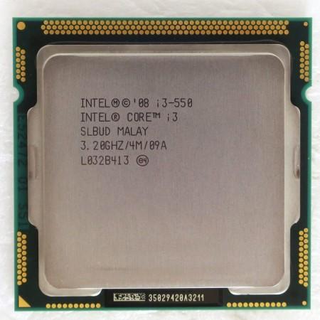 Procesor Intel Core i3 550 3.2 GHz, LGA1156, Cache 4MB, HD Graphics