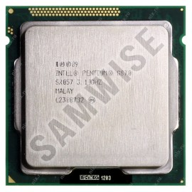 Procesor Intel Pentium Dual Core G870 3.1GHz, Sandy Bridge, 3MB Cache, Socket LGA1155, HD Graphics