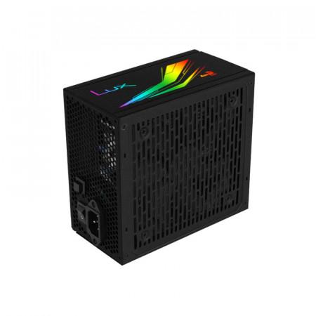 Sursa Aerocool 750W LUX RGB, 80+ Bronze, 5x SATA, 3x Molex, 2x 6+2 PCI-E