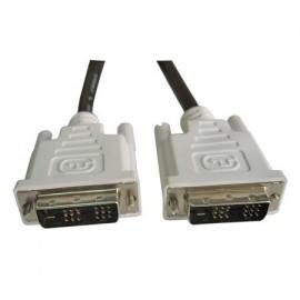 Cablu DVI-D male+DVI-D male, 1.8 M