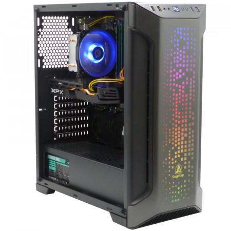 Calculator Gaming Segotep Zack, Intel Core i5 4590 3.3GHz, MSI B85M-E45, 16GB DDR3, SSD 240GB, 4TB, XFX Radeon RX 580 8GB DDR5 256-bit, DVI, HDMI, 600W