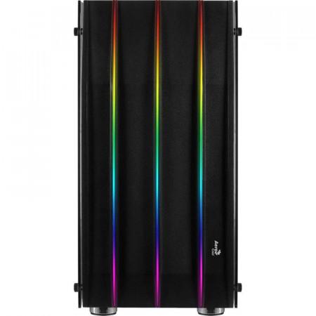 Carcasa Gaming Aerocool Klaw RGB, MiddleTower, USB 3.0, Panou transparent