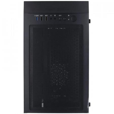 Carcasa Gaming Gamdias Mars E1, MiddleTower, USB 3.0, Panou transparent