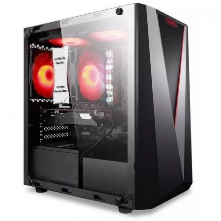 Carcasa Gaming Segotep Prime V, USB 3.0, Panou Transparent