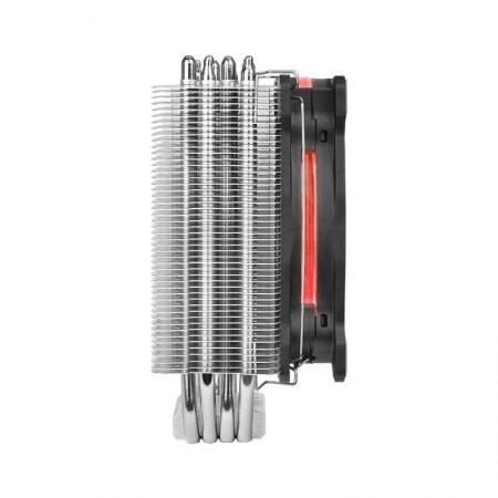 Cooler CPU Gaming Thermaltake Riing Silent 12 RGB, Multi Socket, 4x Heatpipe-uri, Ventilator 120mm