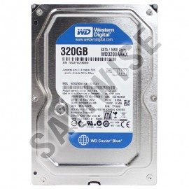 Poze Hard disk 320GB Western Digital Blue WD3200AAKX, Buffer 16MB SATA-II 7200rpm